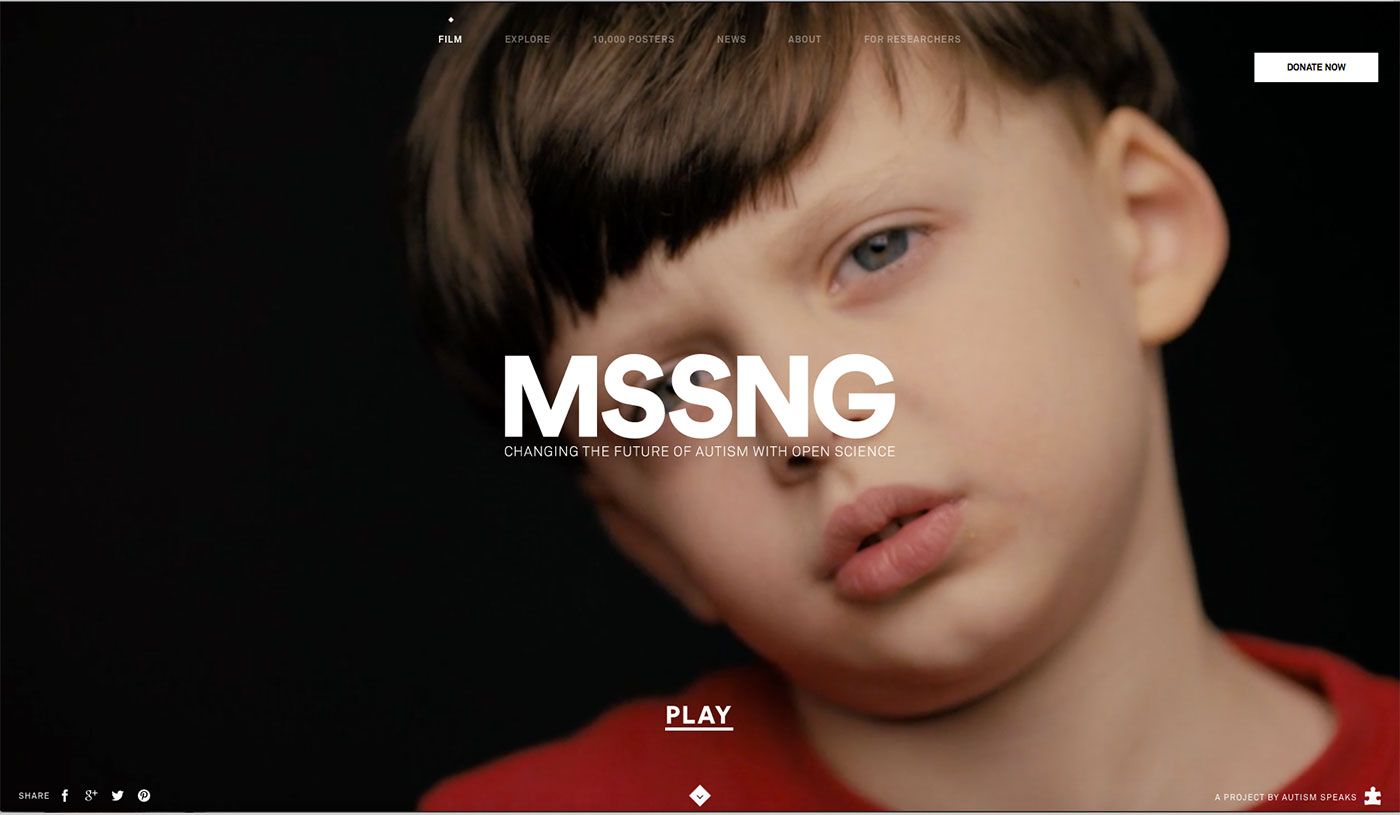 MSSNG homepage
