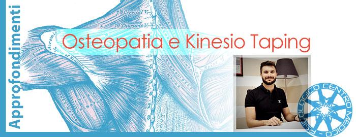 Osteopatia Kinesio Taping Dott. Recchia