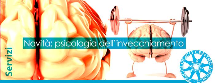 Nuovi servizi disponibili: Psicologia dell'Invecchiamento