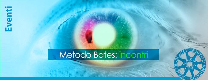 Metodo BATES: incontri individuali GRATUITI