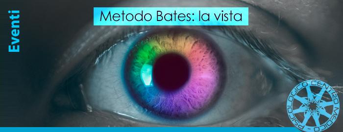Metodo Bates: la vista